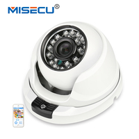 MISECU 2 8mm Wide Metal IP Camera 1080P 960P 720P Vandalproof Onvif P2P Motion Detection RTSP