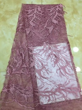 Hot sale African tulle lace fabric New style French net lace fabric for evening dress high quality embroidery lace TS8108