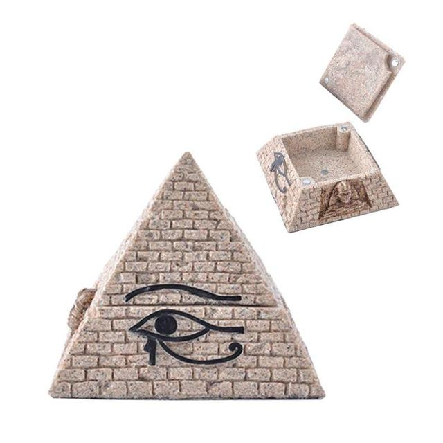 creative pyramid home decoration accessories office bedroom decorative pyramid model jewelry storage vintage home decor - Bedroom Decorative Accessories
