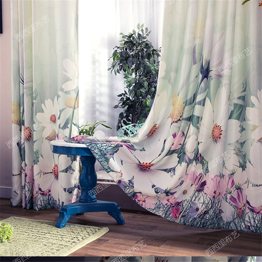 Window Curtain Living Room Blackout Curtains For Children