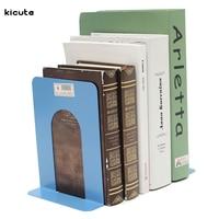 Wholesale 2 X Cheap Durable Heavy Duty Metal Book End Shelf Bookend Holder Office School Supplies