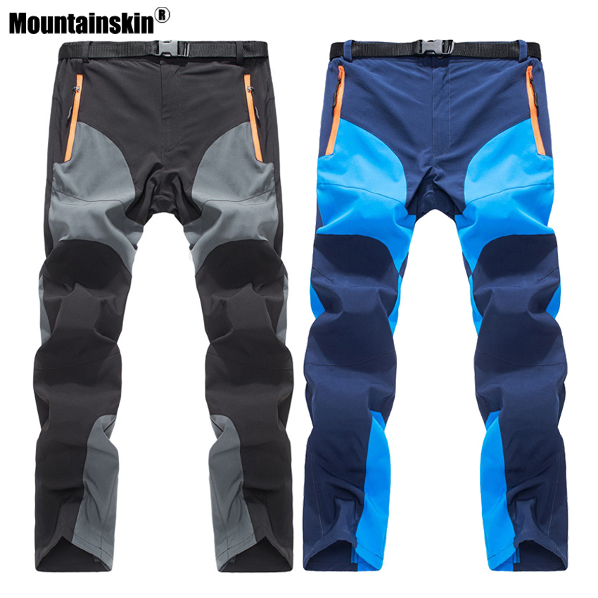 Mountainskin 2020 Men's Summer Quick Dry Pants Outdoor Sports Breathable Hiking Camping Trekking Fishing Climbing Trousers VA158
