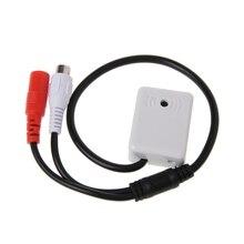 Микрофон аудио звукосниматель устройство мониторинга звука для CCTV камеры системы безопасности
