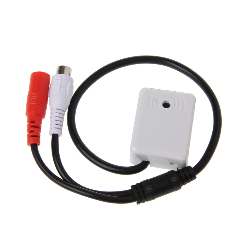 Microphone Audio Pickup Sound Monitoring Device For CCTV Camera Security System
