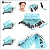 Professional 5 32pcs Wholesale Makeup Brush Set Cosmetic Kits Brushes Foundation Powder Blusher Eyeliner Pincel Maquiagem