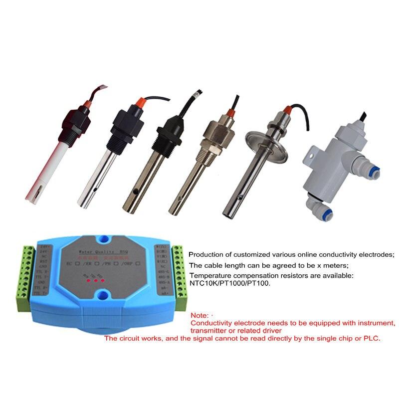 Conductivity Electrode / Conductivity Sensor / TDS Electrode / EC Conductivity Meter / Conductivity Probe