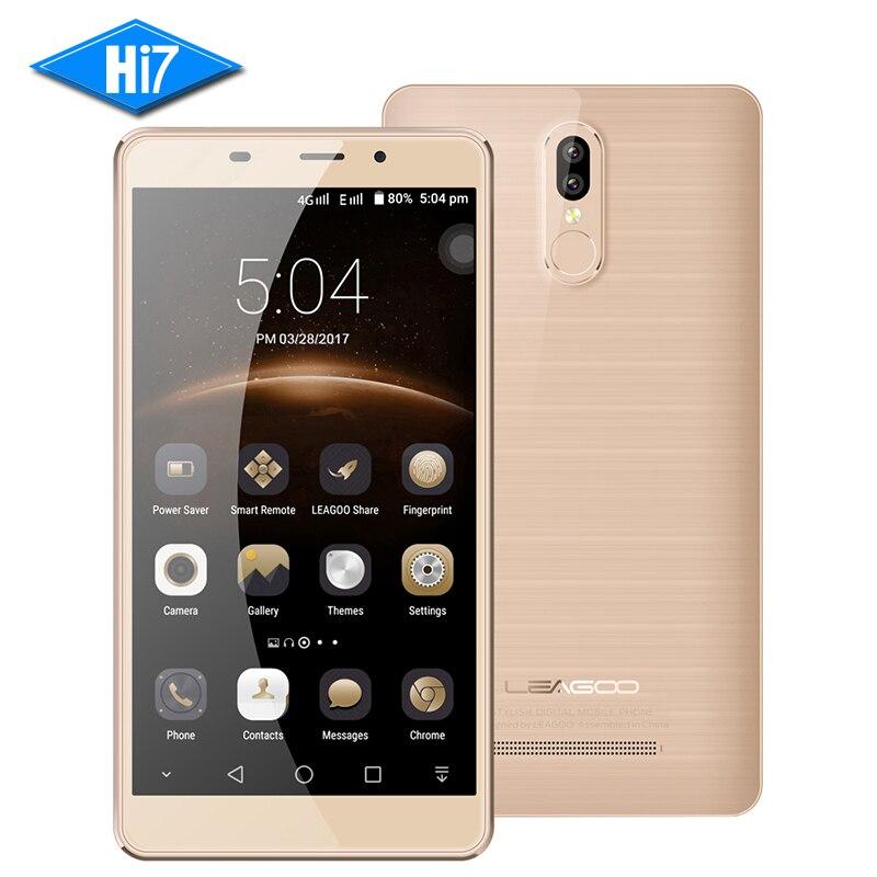 """Цена за Оригинал leagoo m8 pro мобильный телефон android 2 ГБ + 16 ГБ двойной задней камеры 5.7 """"HD MTK6737 Quad Core 13MP Отпечатков Пальцев 4 Г LTE 3500 мАч"""