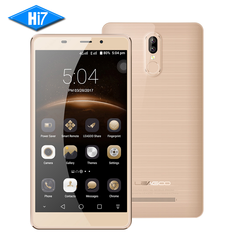 Original Leagoo M8 Pro Mobile Phone Android 2GB 16GB Dual Back Cameras 5 7 HD MTK6737