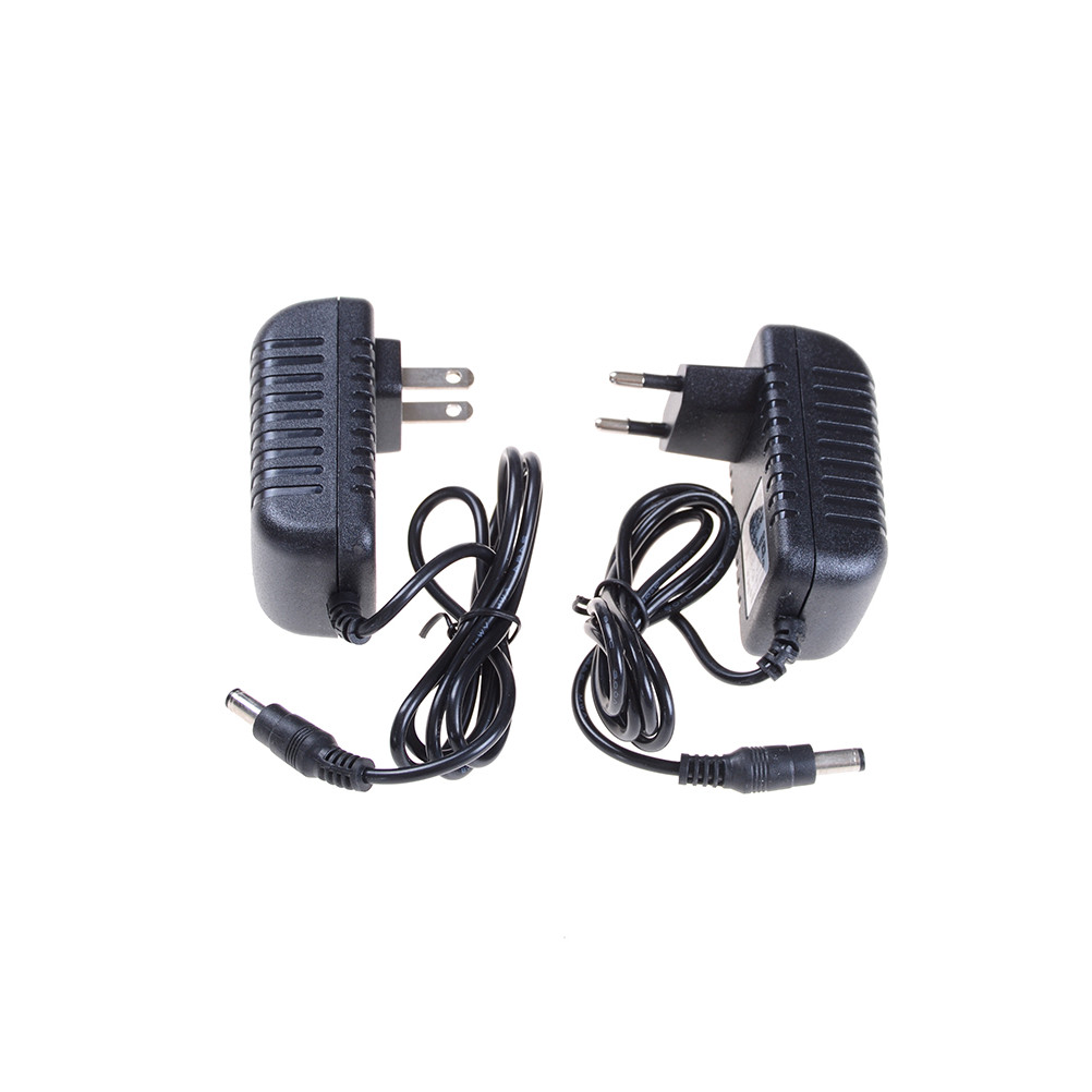 1PCS EU/ US Plug <font><b>Adapter</b></font> 12V2A AC 100V-240V Converter <font><b>Adapter</b></font> DC <font><b>12V</b></font> 2A <font><b>2000mA</b></font> <font><b>Power</b></font> Supply 5.5mm x 2.1-2.5mm for LED CCTV image