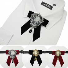 Superior quality bow tie fashion velvet diamond wedding ties for men butterfly bolo Gentleman shirt accessories mens