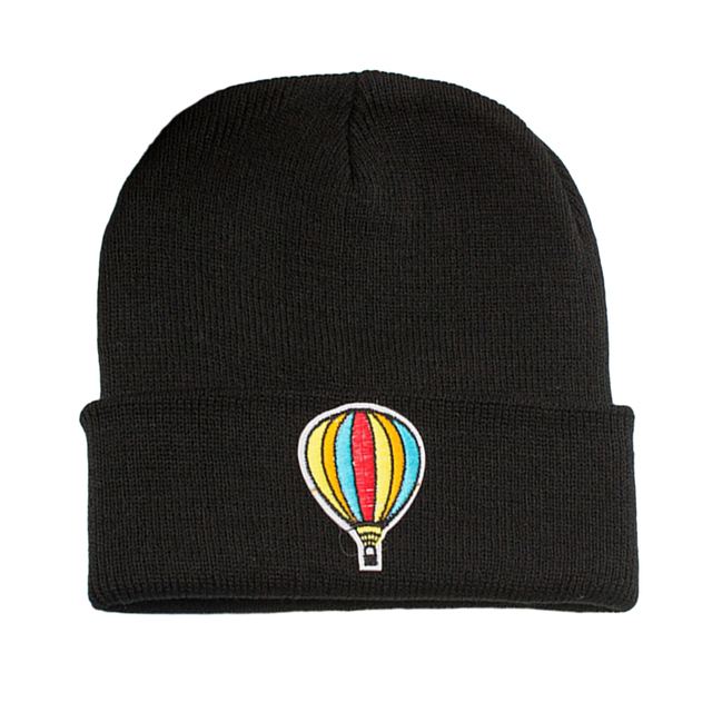ff631483576 Fashion Embroidery Patch Beanies Women Men Skullies 2017 Winter Hat Girls Boys  Caps Solid Color Warm