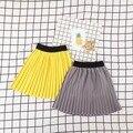Новорожденных девочек юбки дети дети одежда морщинистая Осень Девушки Юбки 1116 Сильвия 541865297764