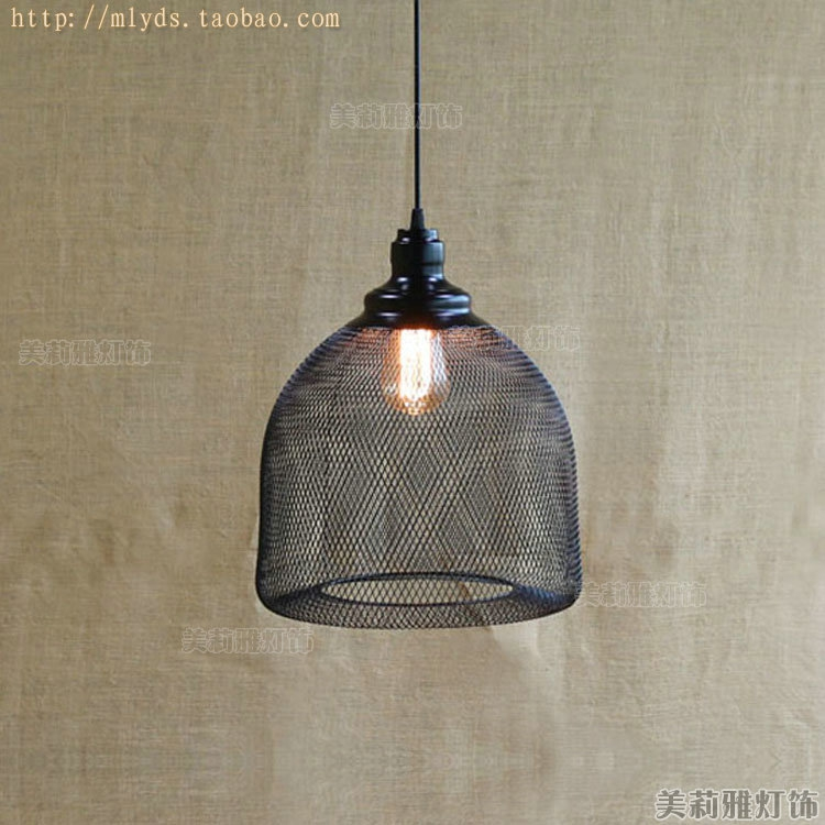 Fantastisch American Retro Loft Style Industrial Pendant Lighting Fixtures In Bottle  Net Lampe Vintage Lamp Light Hanglampin Pendant Lights From Lights Lighting  On With ...