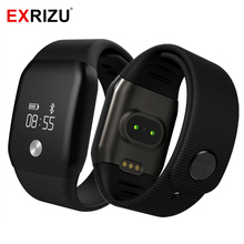 EXRIZU A88 Smart Watch Blood Pressure OLED Touch Screen Waterproof Heart Rate Monitor Smartwatch Health Bracelet for iOS Android