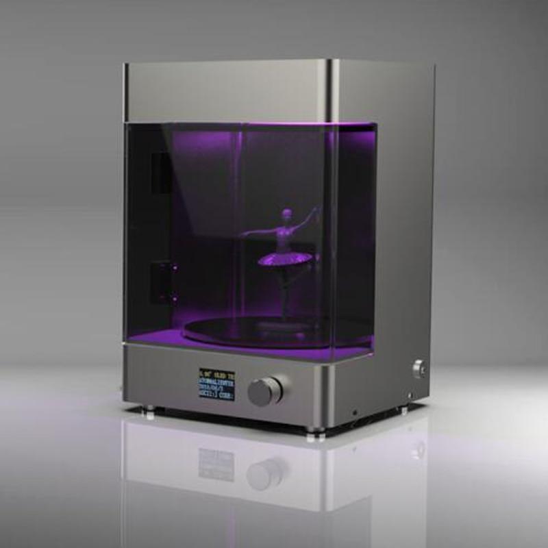 Bureau 3D imprimante led rotatif durcissement boîte chambre new UV rapide prototypage post-durcissement de durcissement de résine boîte