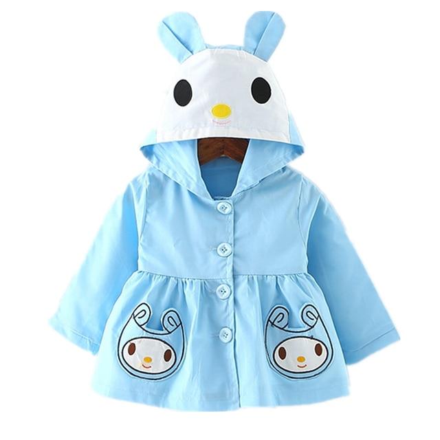 2017 Новый Куртка для Девочки Пальто Весна Осень Дети Случайный Верхней Одежды Infantil Куртки Детей Clothing Baby Girl Одежда