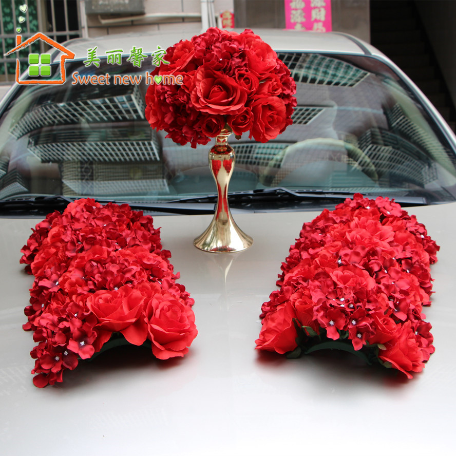 Popular red flower centerpieces buy cheap