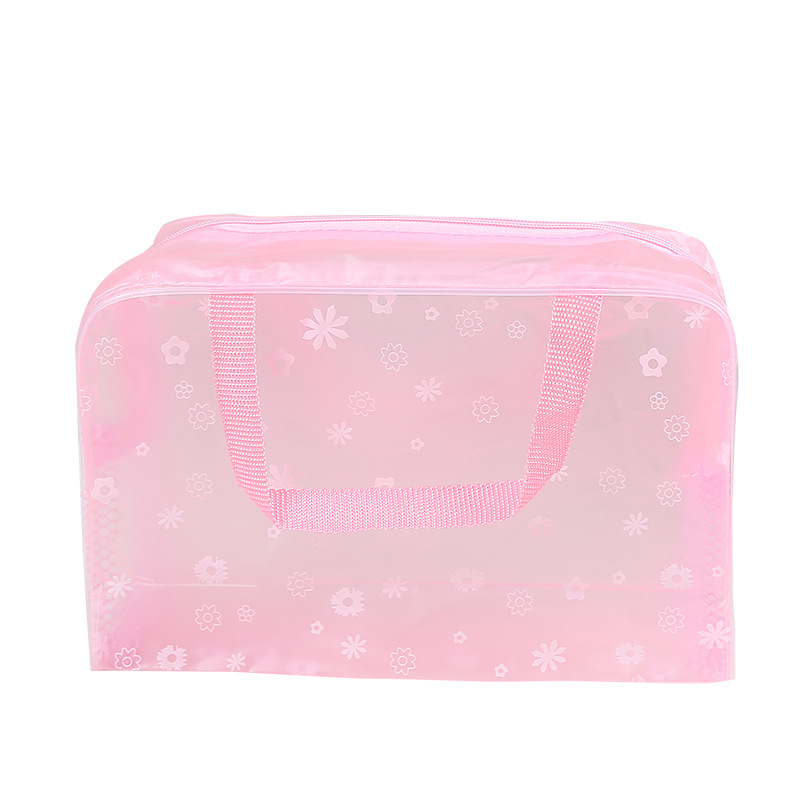 XZP 2019 New Fashion Waterproof Portable Makeup Cosmetic Toiletry Travel Makeup Cosmetic Wash Toothbrush Pouch Organizer Bag 4