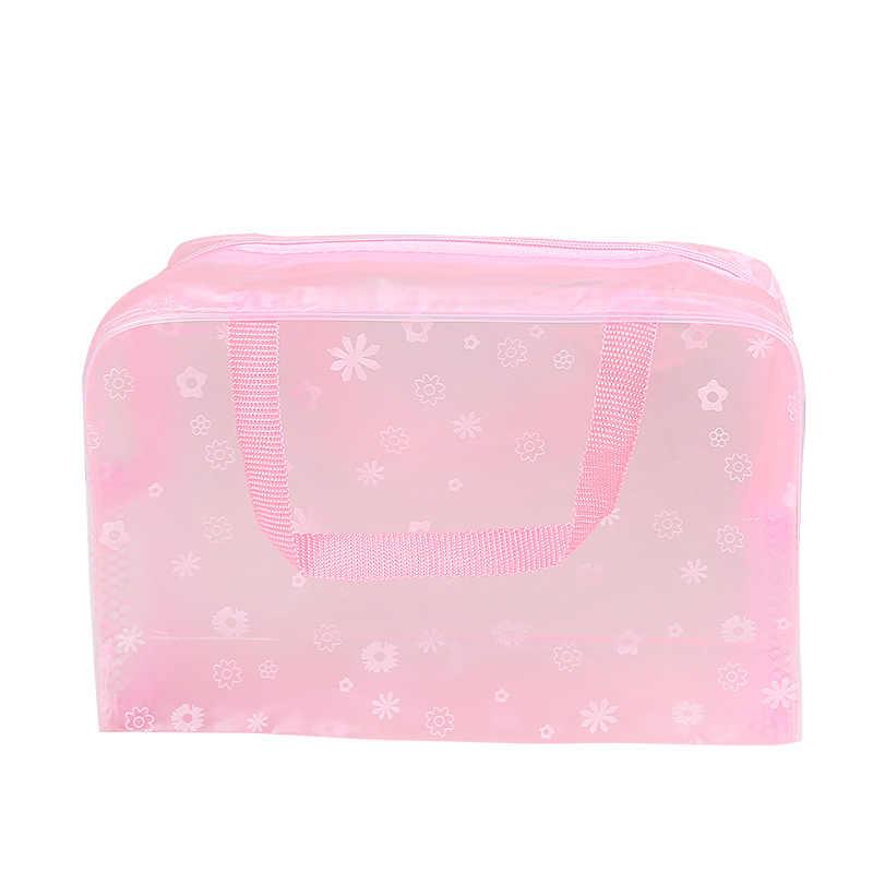 Xzp 2019 Nieuwe Mode Waterdichte Draagbare Make-Up Cosmetische Toilettas Reizen Make-Up Cosmetische Wassen Tandenborstel Pouch Organizer Bag
