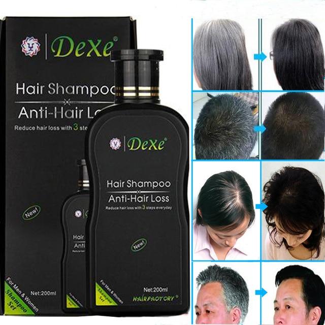 200 ml Dexe Capelli Set Shampoo Anti-Perdita Di capelli A Base di Erbe Cinesi Prodotto La Crescita Dei Capelli Prevenire Trattamento Dei Capelli Per Gli Uomini e le donne