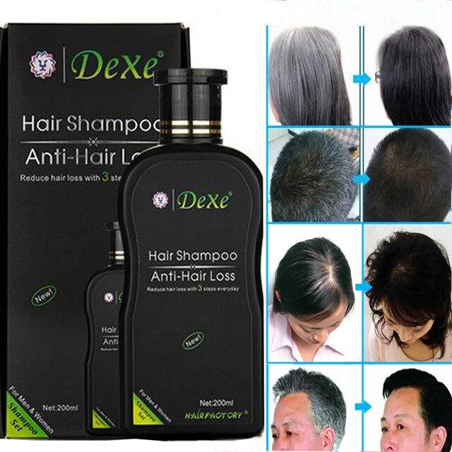 200ml Dexe Hair Shampoo Set Anti-hair Loss Chinese Herbal Hair Growth Product Prevent Hair Treatment For Men & Women