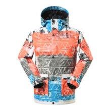 Men Ski Jackets and Coat Snowboard Jacket Waterproof Windproof Breathable Warmth Outdoor Winter Clothing