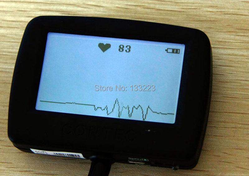 CONTEC CE Multi-function electronic stethoscope EG EG Spo2, Free adult Spo2 probe, infant spo2 probe