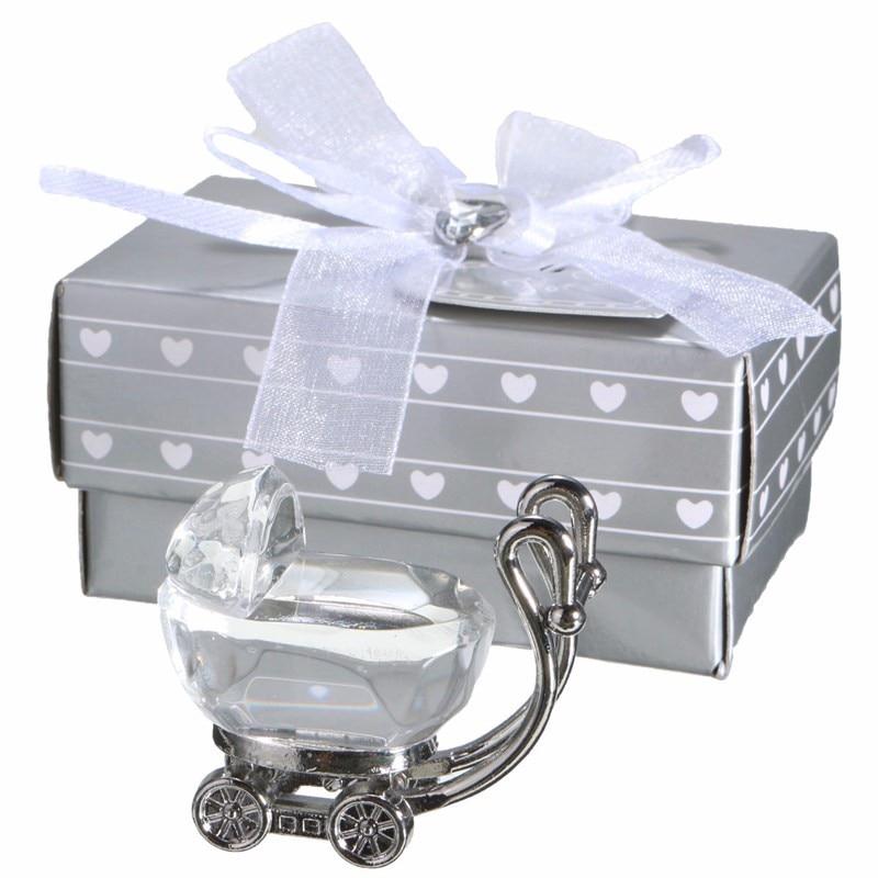 20pcs/LOT Choice Crystal Baby Carriage Favors Newborn Baby Souvenir ...