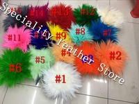 EMS Free Shipping Rooster Hackle Feather Strung 12 15cm 5 6 rooster feather Trimming Rolls DIY accessory 1kgs/color