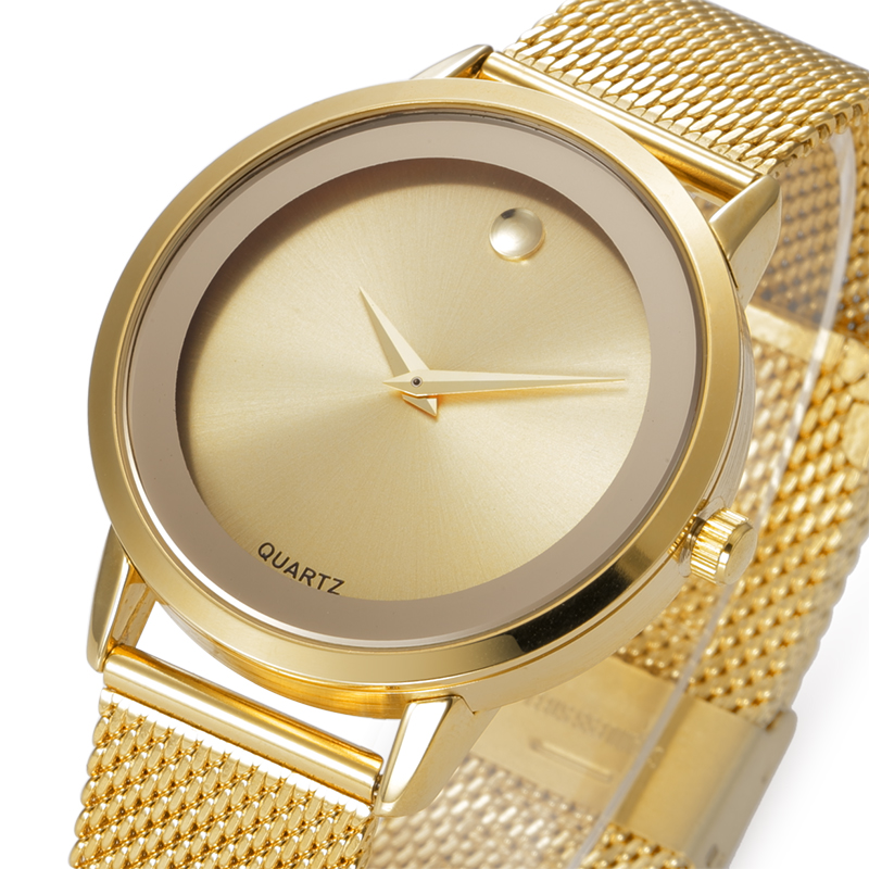 BELBI Ladies Quartz Watch Fashion Women Gold Watches Metal Bracelet Wristwatch famele Luxury Brand Lady Watch