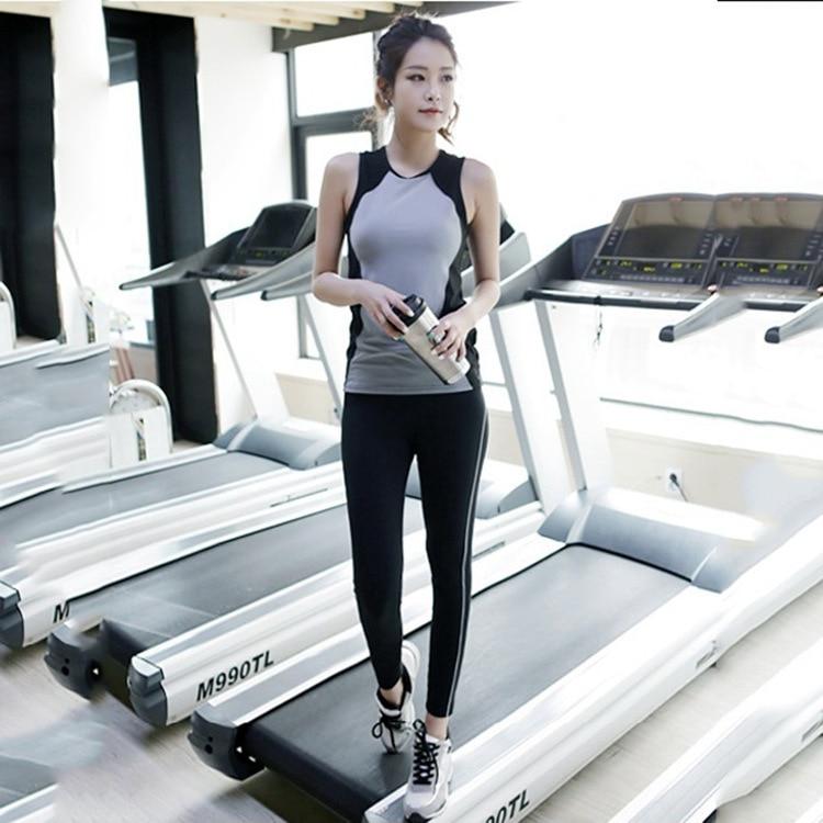 Fitness Women Tank Top Female Set Vest Bodybuilding -7133