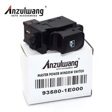 ANZULWANG New Power Window Switch Passenger 93580-1E000 For HYUNDAI Accent 2007 2008 2009 2010