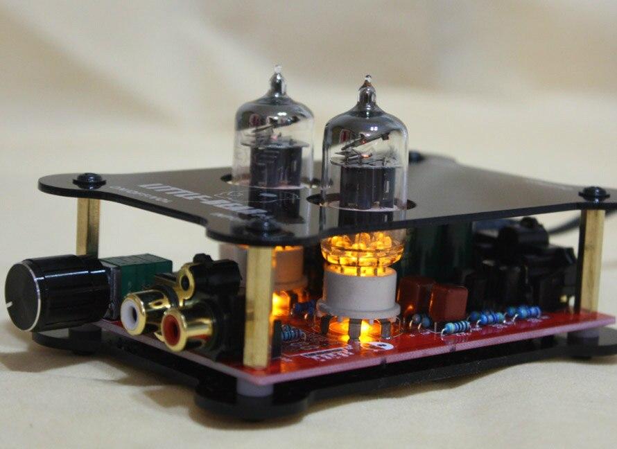 P5 BK 6J1 HiFi stéréo tube valve préamplificateur préamplificateur amplificateur AU