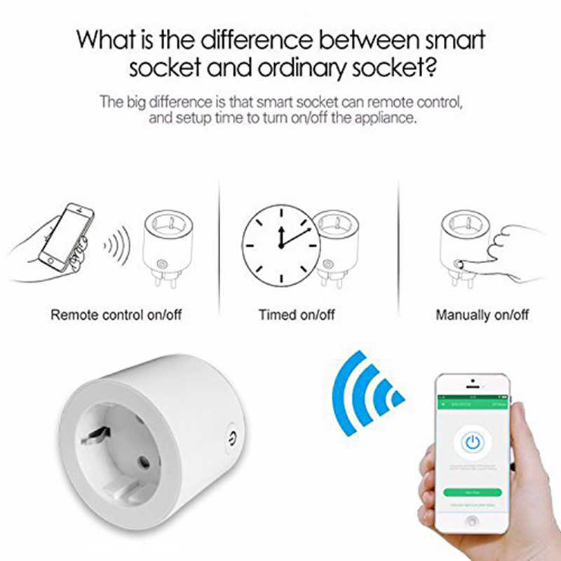 Smart Plug Compatible With Alexa