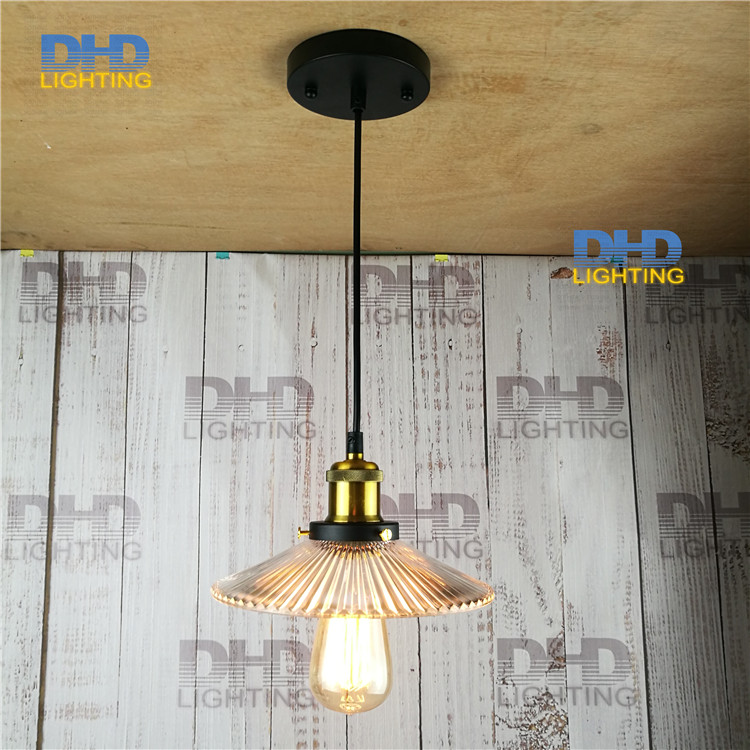 Free ship D220mm clear glass shade Edison filament lighting fixture personality retro art glass pendant lamp for home decoration free shipping globle g125 amber glass led 4w spiral filament lamp for vintage edison fixture e27 220v lighting bulb