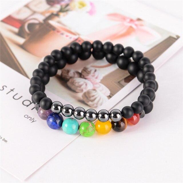 2pcs/set 7 Chakra Bracelet  5