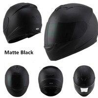 full face helmet motorcycle helmets Racing dot capacete de moto motociclista para Motocross kask casco M L XL XXL Matte black