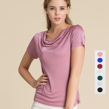 L-3XL Stretchy T-Shirts top