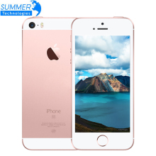 "Original Entsperrt Apple iPhone SE 4G LTE Handy iOS Touch ID Chip A9 Dual Core 2G RAM 16/64 GB ROM 4,0 ""12.0MP Mobile telefon"