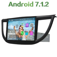 "2GB RAM 1 din Android 7.1.2 Quad core 10.1"" GPS Navigation Car Radio Digital FM Mp3 Player For Honda CRV 2012 2013 2014 2015"