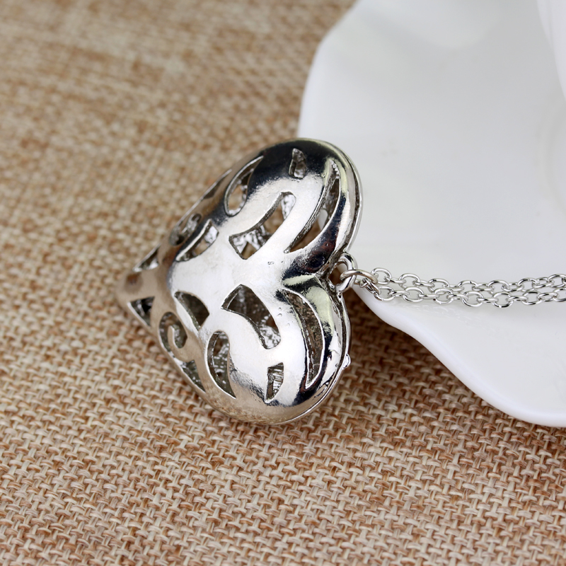 Vampire Diaries Caroline's Heart Pendant Necklace
