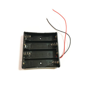 Image 3 - 1pcs 18650 Power Battery Storage Case Box Holder Leads With 1 2 3 4 Slots drop shipping