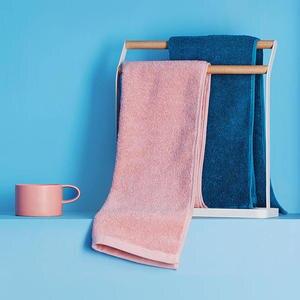 Image 3 - Zanjia Toalla de algodón de 32x70cm, 100%, 5 colores, fuerte absorción de agua, suave y cómoda, para playa y cara