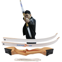 48inch 10/16/20lbs archery recurve bow laminated wood fiberglass takedown bow shooting practice bow arrow target children gift