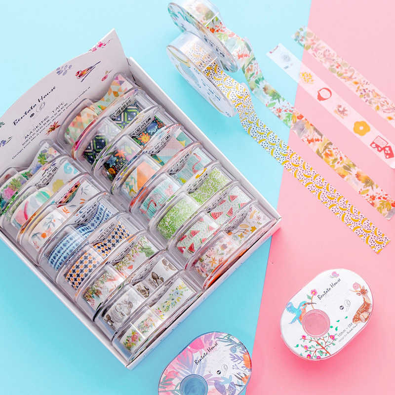 24Colors Cute Life Fruit Masking Tape Washi Tape DIY Scrapbooking Masking Tape School Office Supply 15mm x 5m