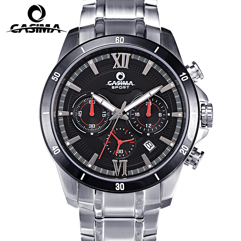Luxury Brand CASIMA Sport Watches Men montre homme Casual Waterproof 100m Men Quartz Watch reloj hombre Male Clock Relogio