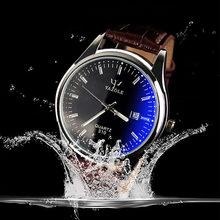 2016 best-vente YAZOLE marque de luxe quartz montre En Cuir De Mode Casual montres reloj masculino hommes montre Sport montre-Bracelet
