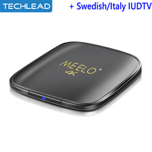 Goedkope TV Box Android 6.0 Set Top Box + Portugees Holland TV Kanaals Spanje Indian iudtv Account USA Griekse apk Pakket Italië IPTV(China)