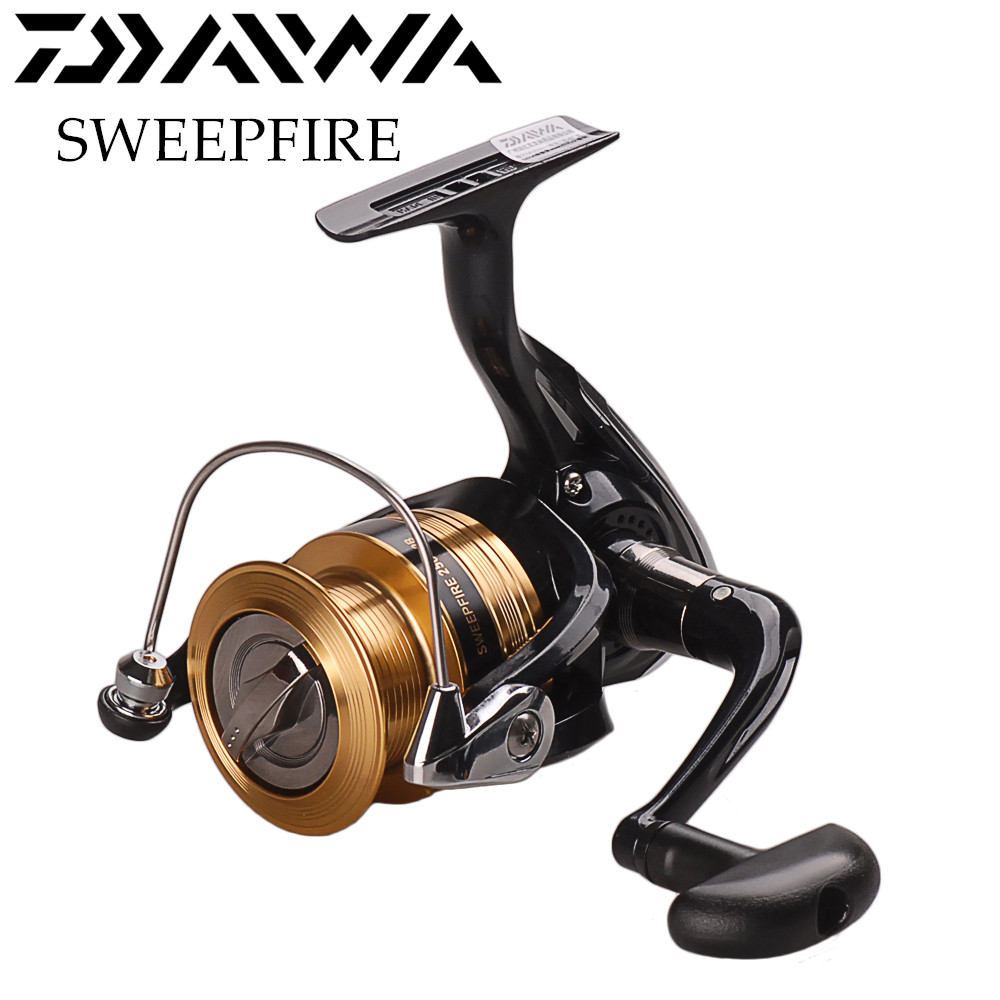 DAIWA SWEEPFIRE Spinning Angeln Reel 1500/2000/2500/3000/4000/2BB/5,3: 1/2-6 KG Spinning Reel Carretilha De Pesca Molinete Peche