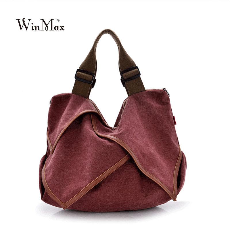 New Autumn 2017 Female Canvas Bag Women fashion handbag shoulder bags crossbody tote bolsas vintage large canvas ladies bag 2017 fashion women handbag canvas shoulder bag messenger crossbody bags female casual tote travel bag hot sale